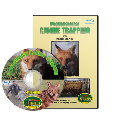 Professional Canine Trapping with Kevin Kishel Blu-ray DVD #9776612